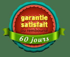 garantie satisfait ou intégralement remboursé de 60 jours sur tous les cours d'harmonica
