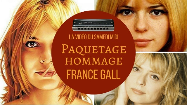 Paquetage Hommage à France Gall