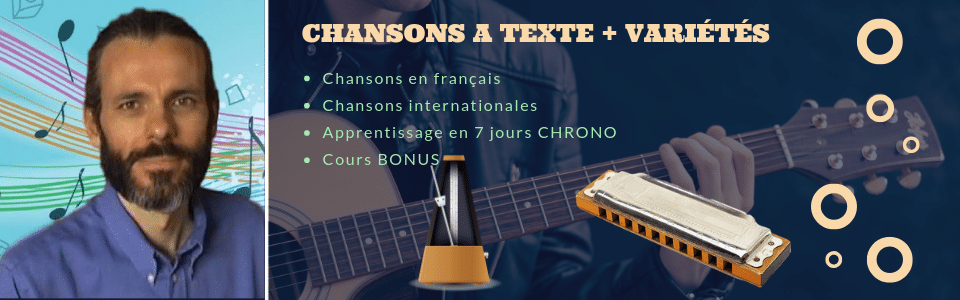 Cours d'harmonica blues, country & jazz