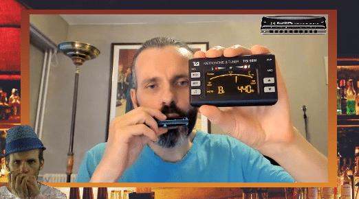 Le Métronome-Accordeur pour bien démarrer ta formation à l'harmonica