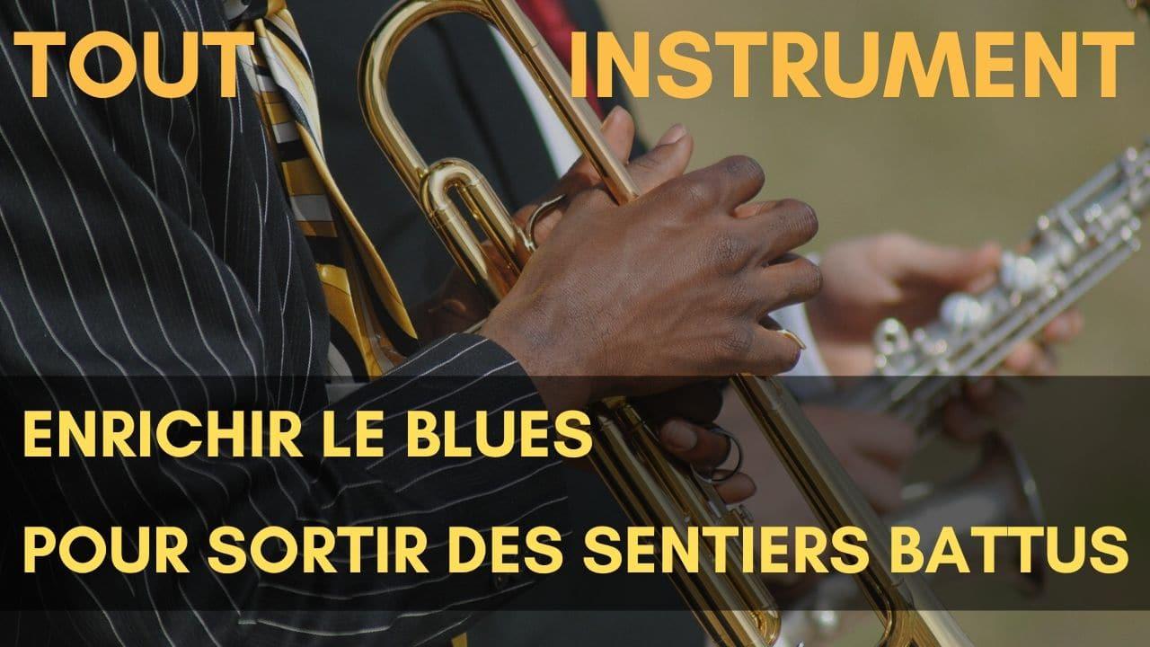 Apprends à enrichir tes grilles, les mélodies de tes compositions et tes improvisations pour sortir du blues traditionnel