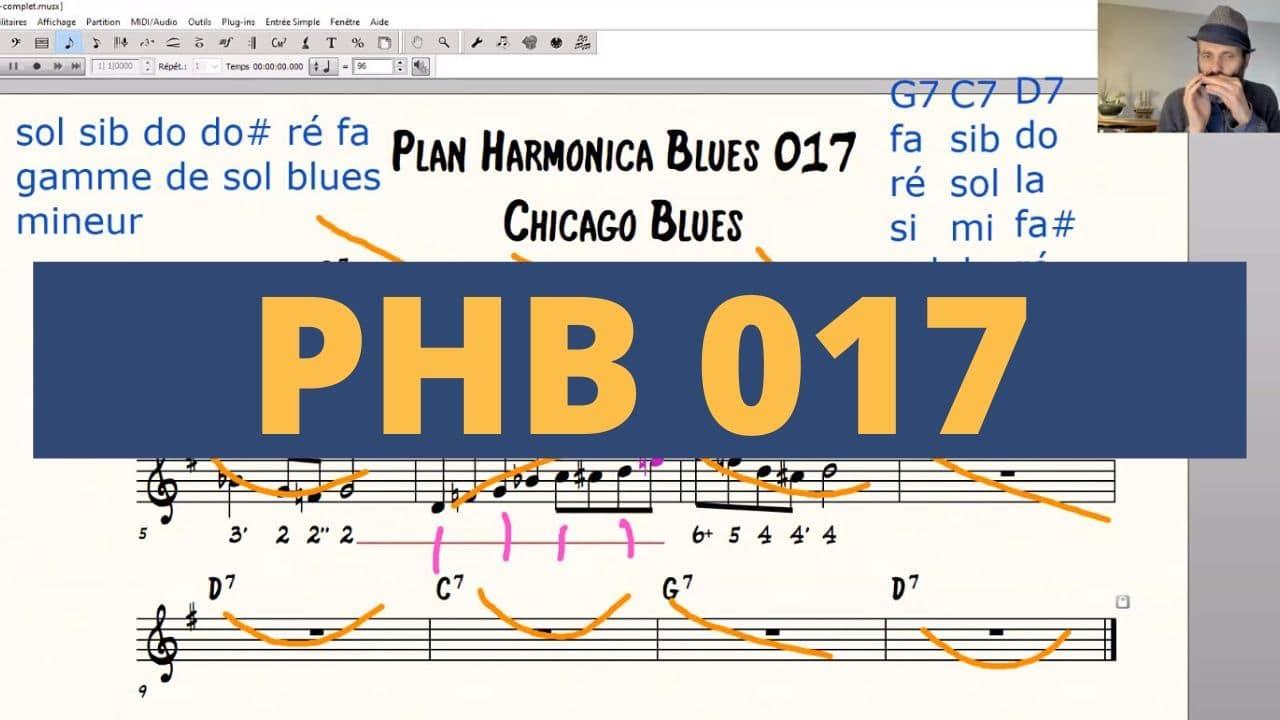 [PHB 017] Cours Complet pour aller plus loin avec ce Plan Harmonica Blues